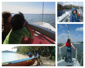 plavba lodí s dětmi